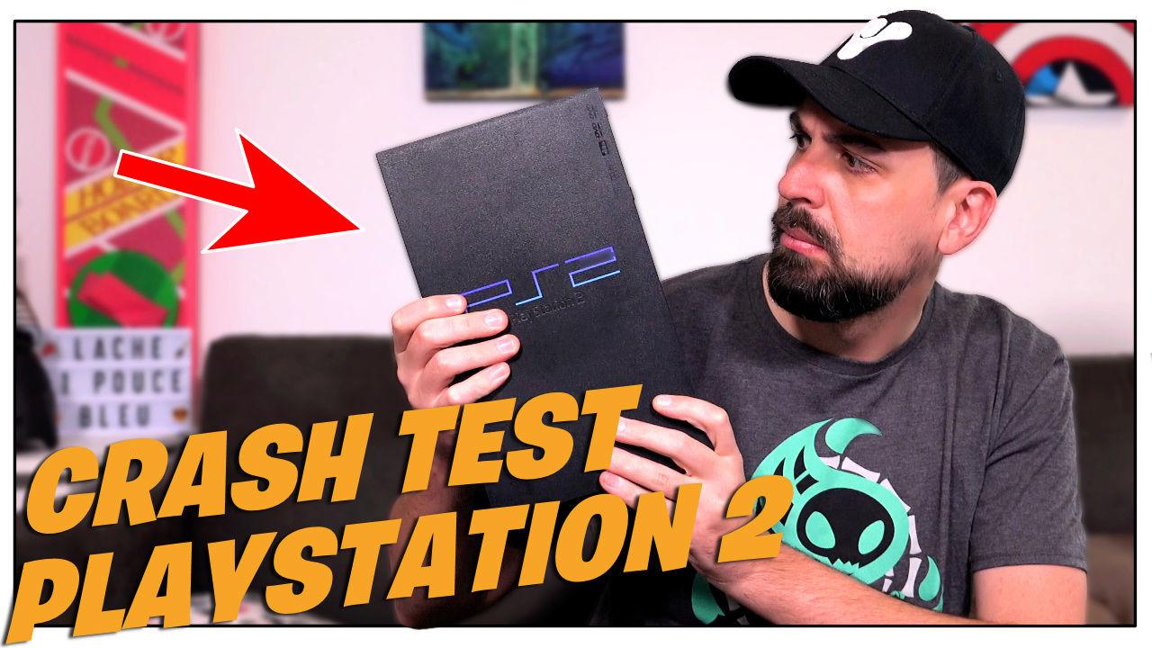Je test la Playstation 2 fat achetée au vide grenier Ps210