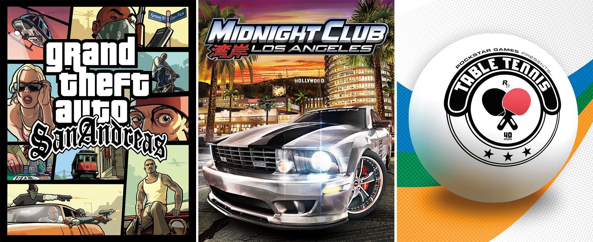 Xbox One : GTA San Andreas, Midnight Club : LA et Table Tennis vont devenir rétrocompatibles Rockst10