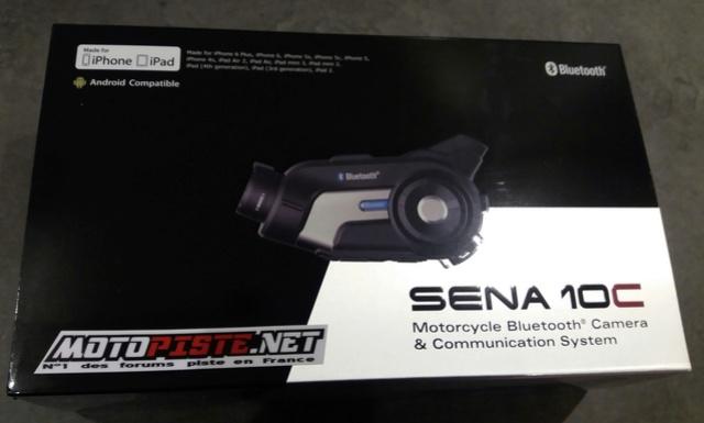 [Présentation Matos] Intercom/caméra SENA 10C 20180218