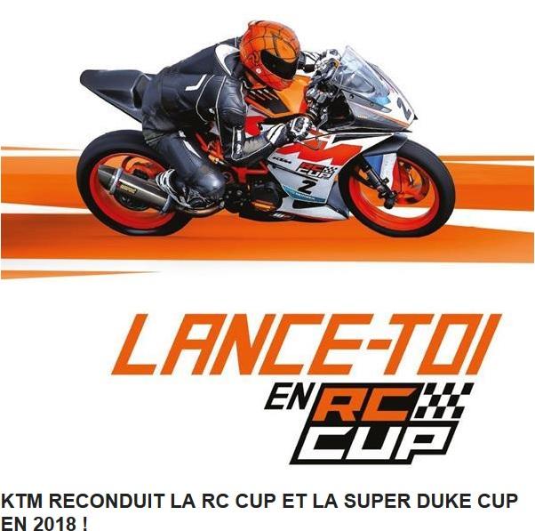 KTM RECONDUIT LA RC CUP ET LA SUPER DUKE CUP EN 2018 ! Ktm10