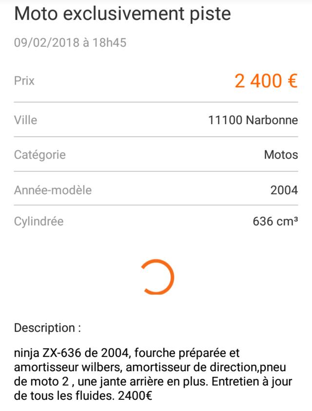 Les Annonces de Pistardes sélectionnées par Motopiste Screen19