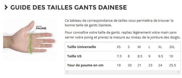 [ESSAI]Gants DAINESE DRUID D1 Long P75 Taille10