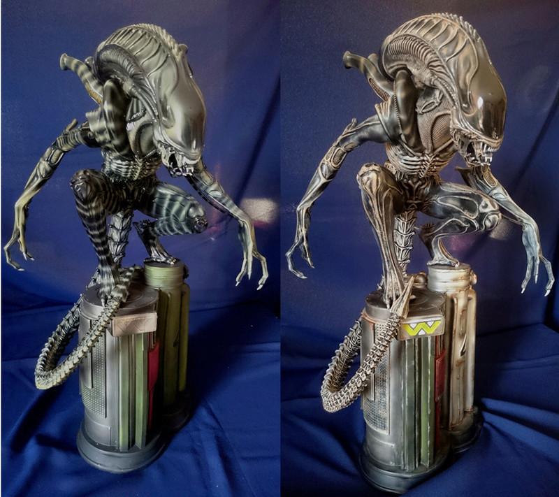 Repaint Alien Warrior 1/4  A_w_3_10