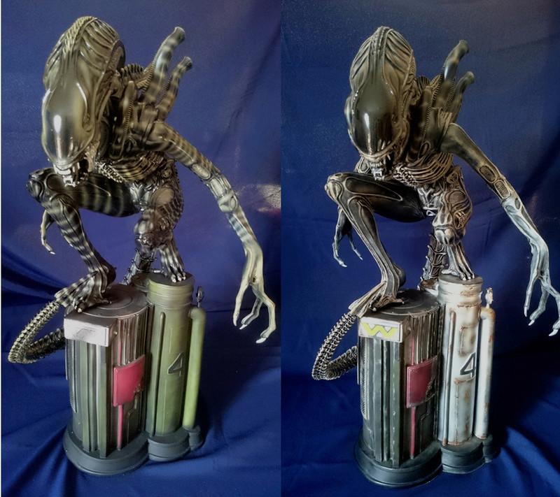 Repaint Alien Warrior 1/4  A_w_fa10