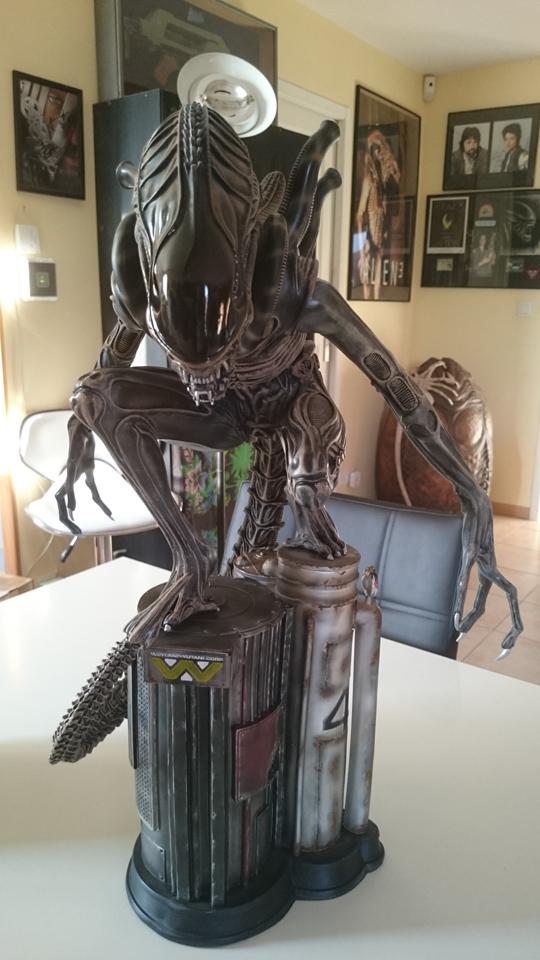 Repaint Alien Warrior 1/4  Dsc_0311