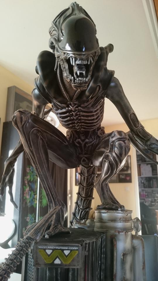 Repaint Alien Warrior 1/4  Dsc_0314