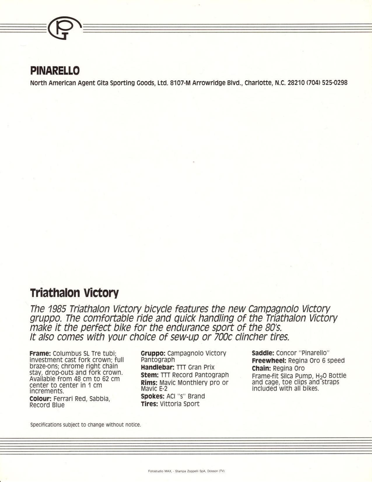 pinarello - PINARELLO Triathlon Victory - Page 2 Page_110