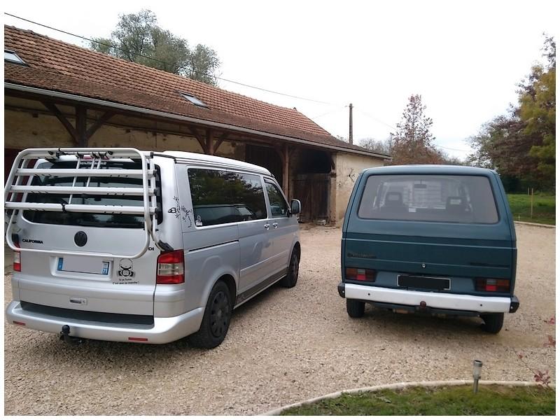 Le 'tit bus de Lilou, Didine et cap'taine T3-vw012