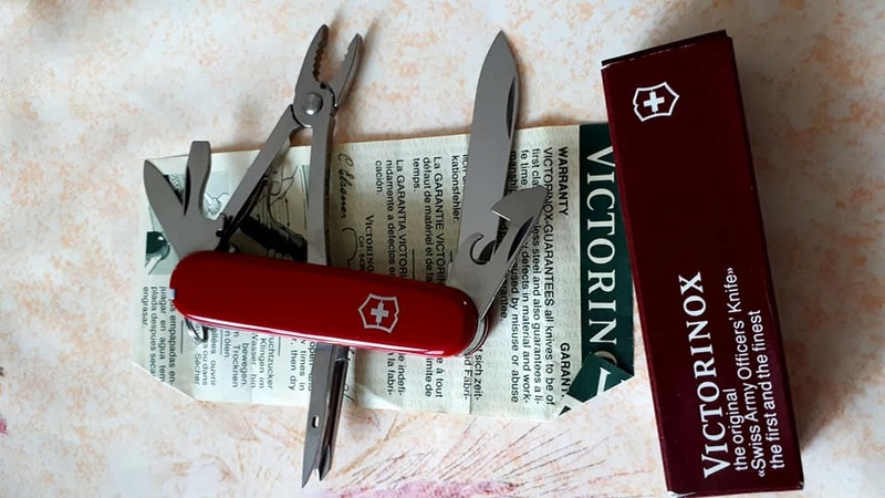 Mes 91mm rouge et ALOX 93 mm ( Victorinox ) -- ( Philippe ) 24852510