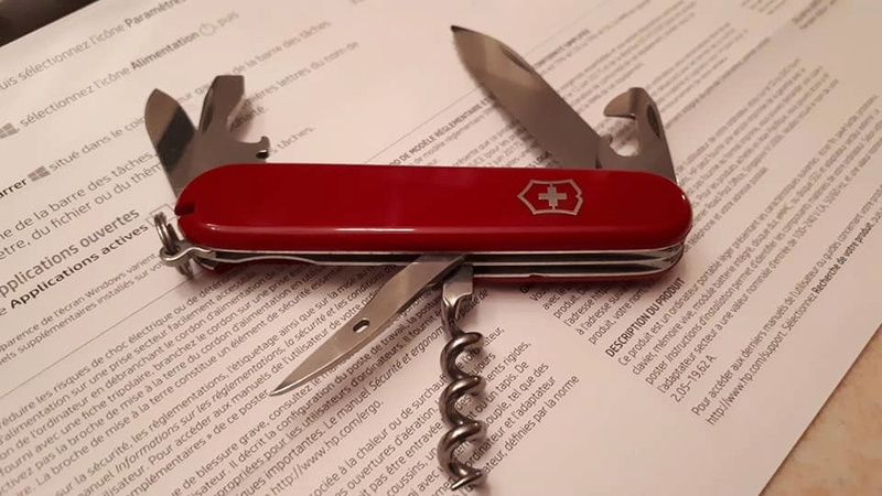 Mes 91mm rouge et ALOX 93 mm ( Victorinox ) -- ( Philippe ) 26991610