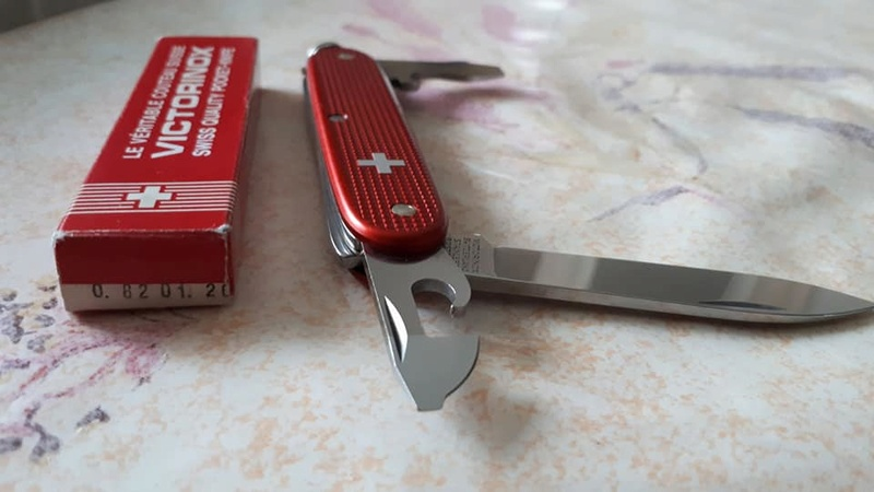 Mes 91mm rouge et ALOX 93 mm ( Victorinox ) -- ( Philippe ) 29694310