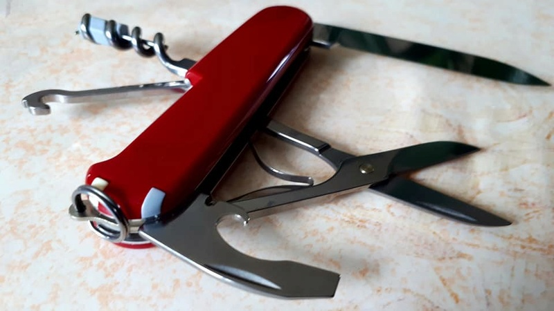 Mes 91mm rouge et ALOX 93 mm ( Victorinox ) -- ( Philippe ) 30127211