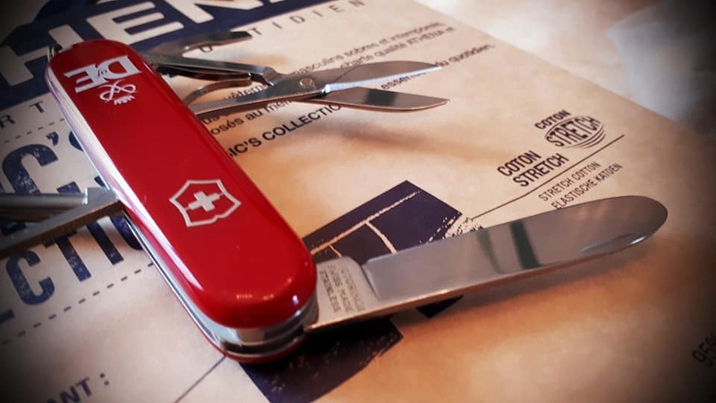 Mes 91mm rouge et ALOX 93 mm ( Victorinox ) -- ( Philippe ) 30515710