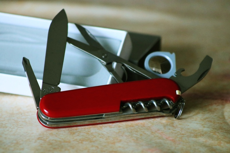 Mes 91mm rouge et ALOX 93 mm ( Victorinox ) -- ( Philippe ) Img_8818