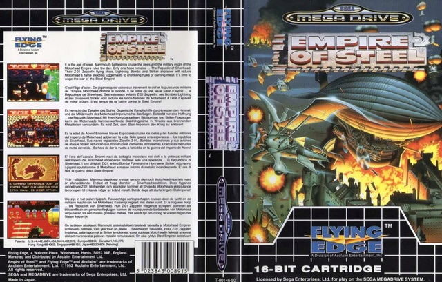 EMPIRE OF STEEL (MegaDrive) Empire10