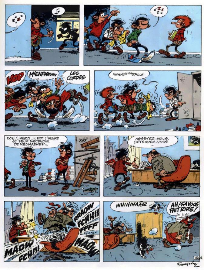 GASTON LAGAFFE Gaston10
