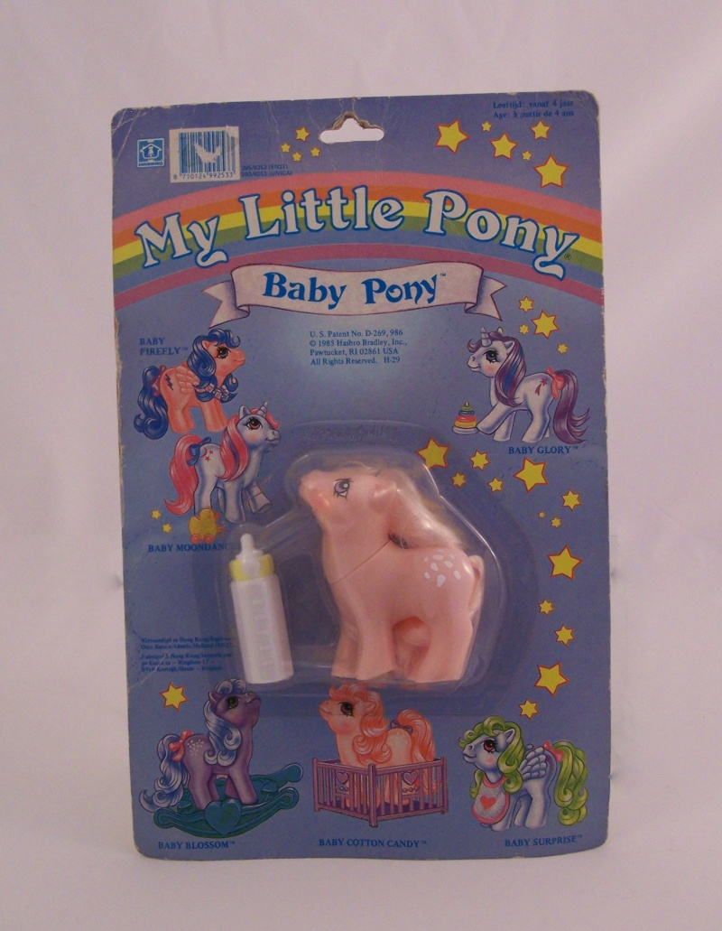 Mon Petit Poney / My Little Pony G1 (Hasbro) 1982/1995 11810