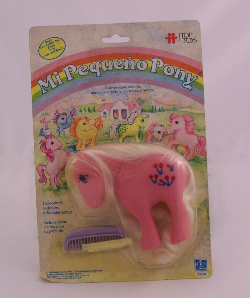Mon Petit Poney / My Little Pony G1 (Hasbro) 1982/1995 15210