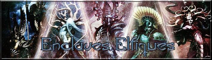 Enclaves Elfiques - Ulthuan vs Naggaroth