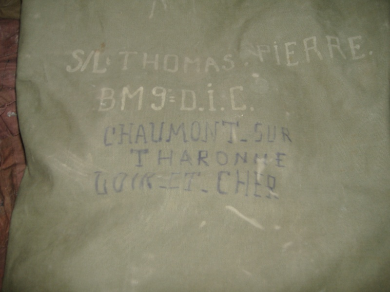 Sac paquetage d'un officier Indochine 1945 - 1947 Sortie65