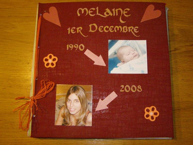 Album pour les 18 ans de Mélaine P2060310