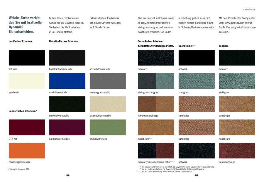 couleurs exterieur et interieur du Cayenne Cayenn10