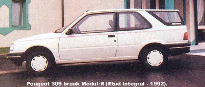 [Présentation] Le design par Peugeot - Page 6 309bkm10