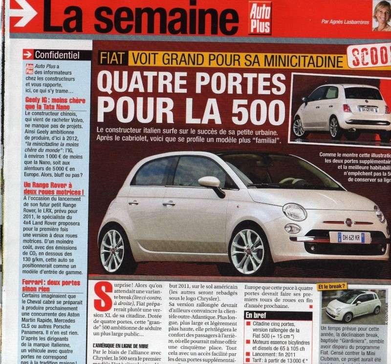 2015 - [Fiat] 500 Restylée Lm01810