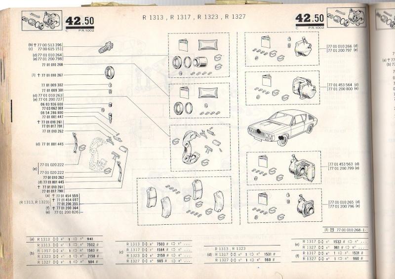 Pieces mechanique avant 17 TS/TL/G Pr100214