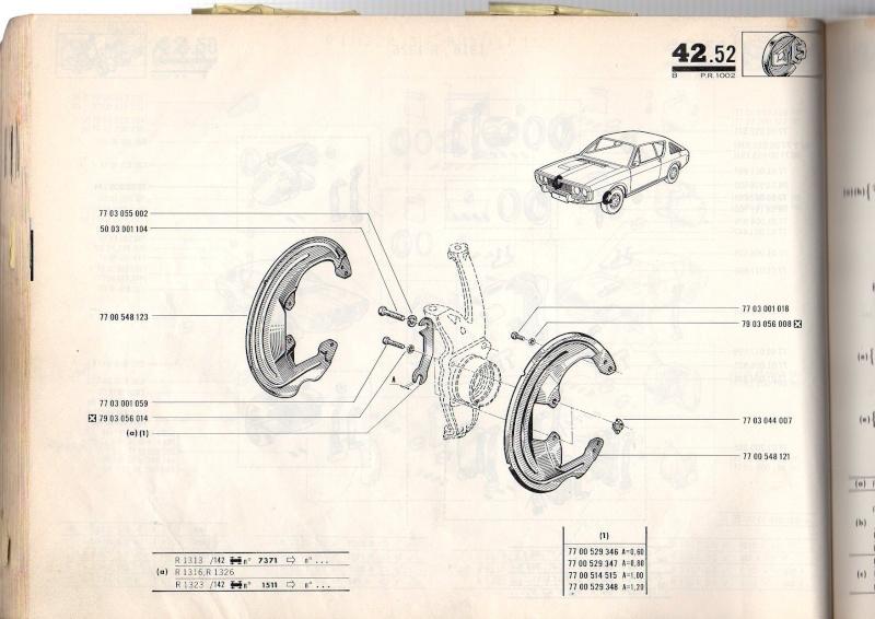Pieces mechanique avant 17 TS/TL/G Pr100215