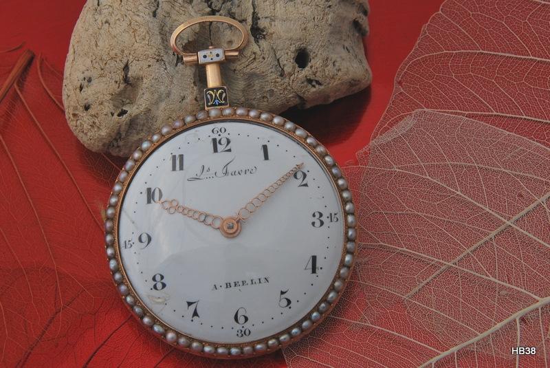 poche - Une montre de poche exceptionnelle Gm9f10