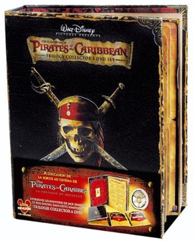 Pirates Des Caraïbes: La Trilogie Coffret en Edition Limitée 51yuib10