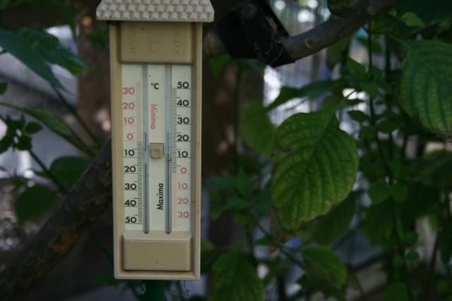 Une constatation de température de ces derniers jours Thermo10