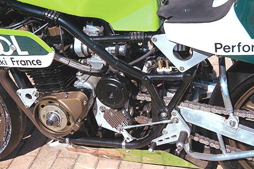 KAWA 1000 racer Bertha13