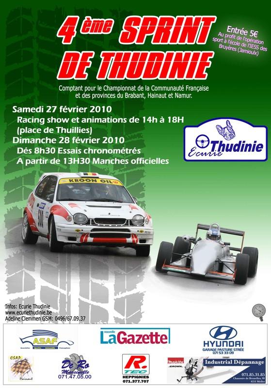 [sprint de la thudinie] 28 février 2010 infos, engagés.. 1affic10