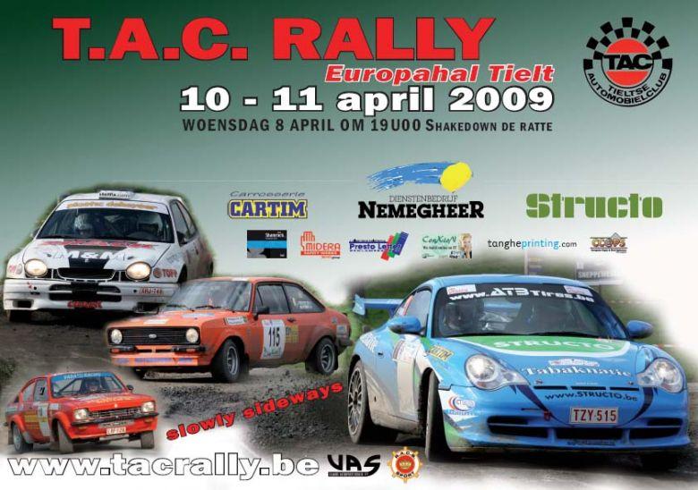 TAC Rally (11/04/2009)infos, engagement,.... Rallyl10