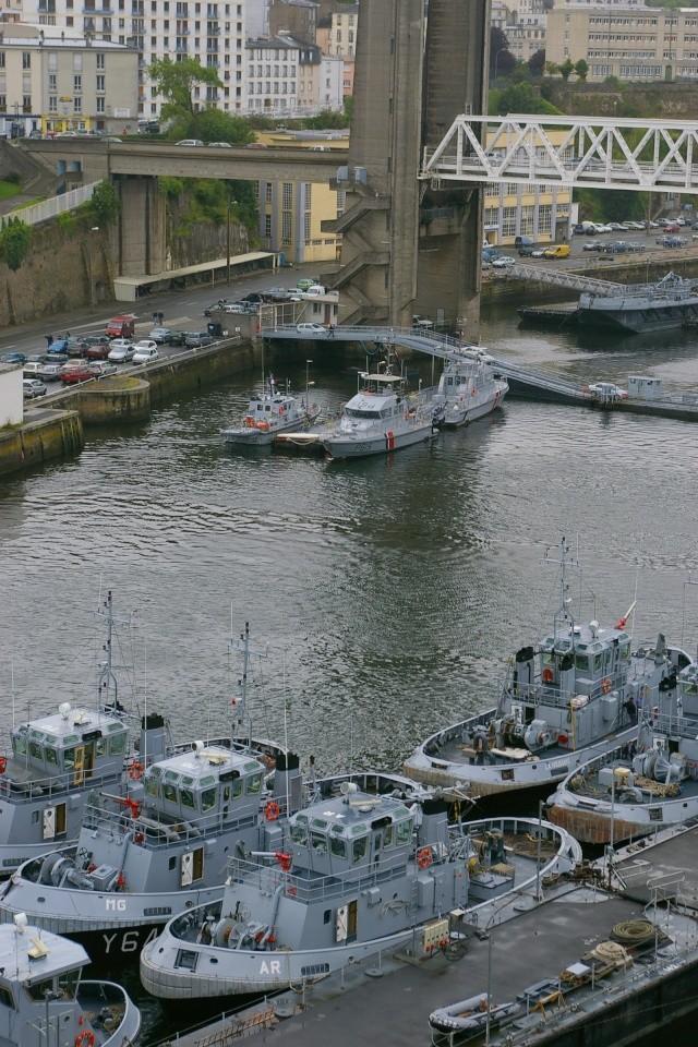Le port de Brest Sg1l5111
