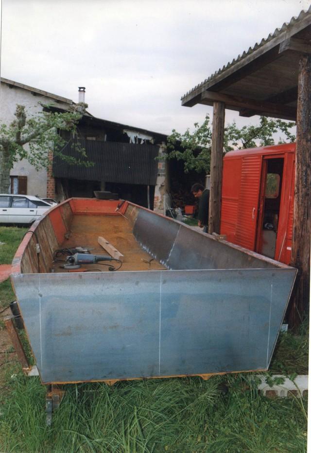 Webmaster = ma 2ème embarcation ( barque fabrication maison ) 1010