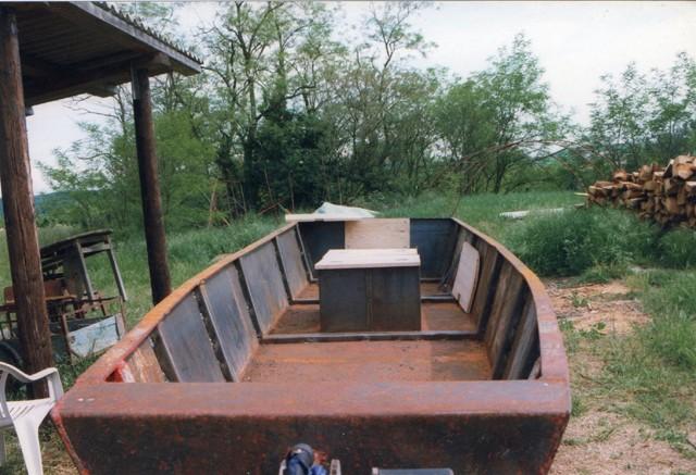 Webmaster = ma 2ème embarcation ( barque fabrication maison ) 1310