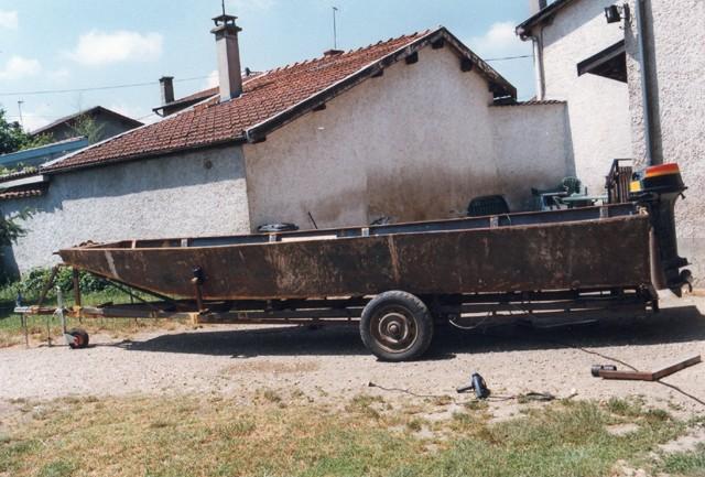 Webmaster = ma 2ème embarcation ( barque fabrication maison ) 1411
