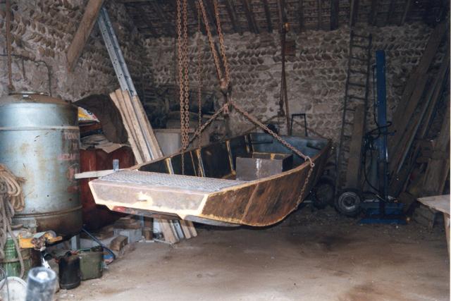 Webmaster = ma 2ème embarcation ( barque fabrication maison ) 1611