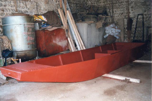 Webmaster = ma 2ème embarcation ( barque fabrication maison ) 1711