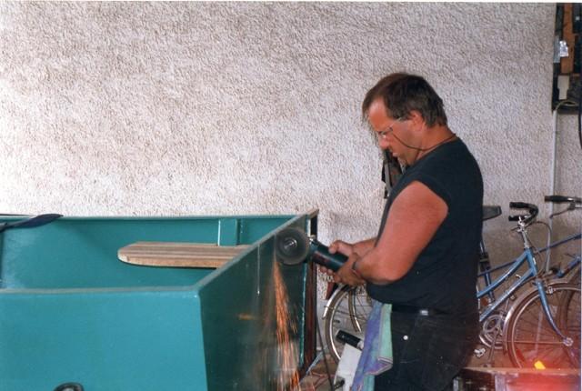 Webmaster = ma 2ème embarcation ( barque fabrication maison ) 2010