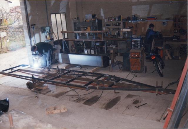 Webmaster = ma 2ème embarcation ( barque fabrication maison ) 310
