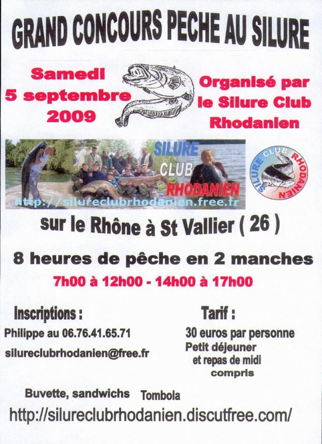 Grand concours de pêche au silure Concou13