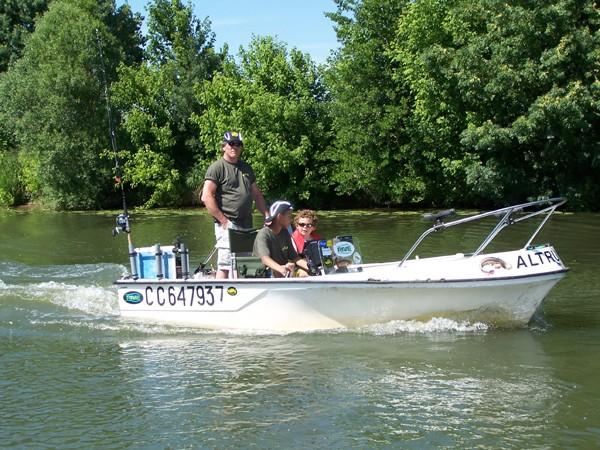 Sortie Float tube sur la Seille fin mai 2009 Marcel10