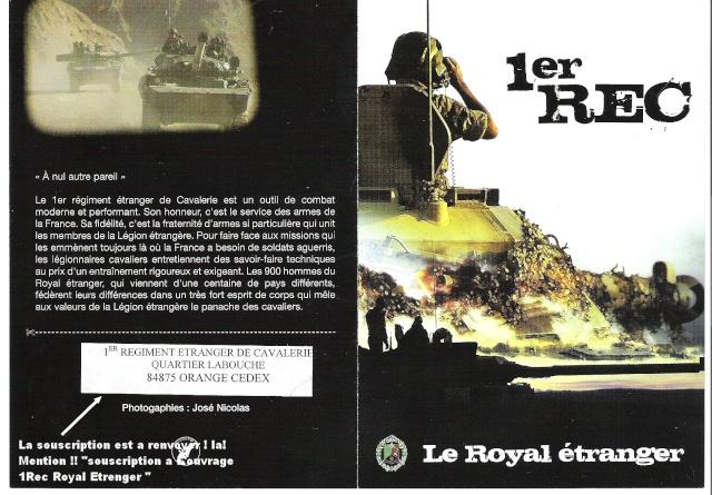 "Ouvrage "" 1 REC Royal Etrenger "" Livre_10"