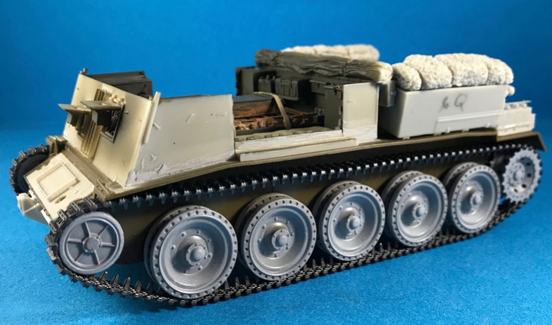 Crusader Gun Tractor et 17 Pdr 1/35 Img_0010