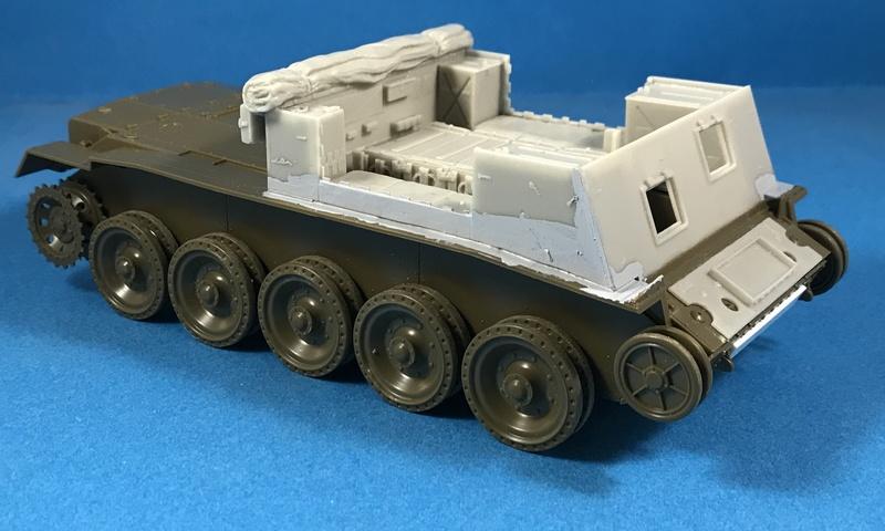 Crusader Gun Tractor et 17 Pdr 1/35 Img_3014