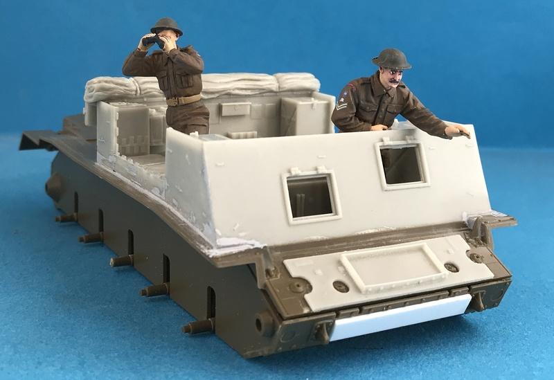 Crusader Gun Tractor et 17 Pdr 1/35 Img_3320